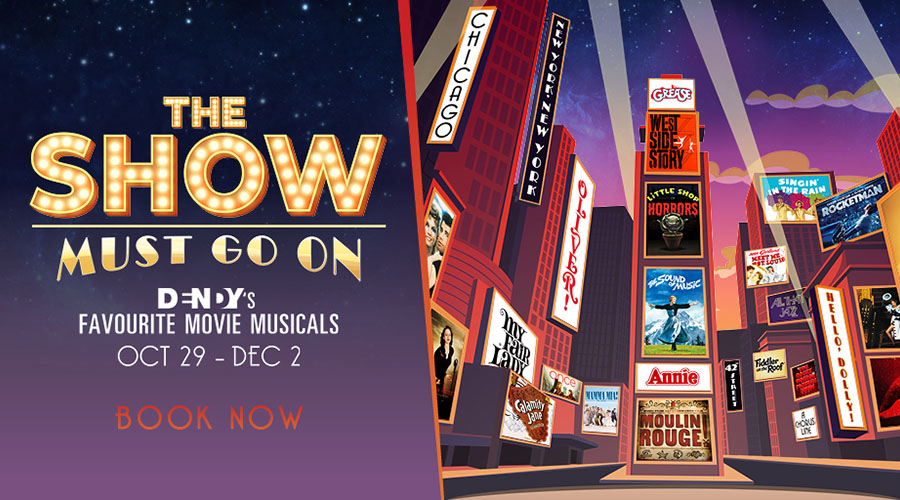 Win tickets to the upcoming Musical Film Festival The Show Must Go On at Dendy Coorparoo!