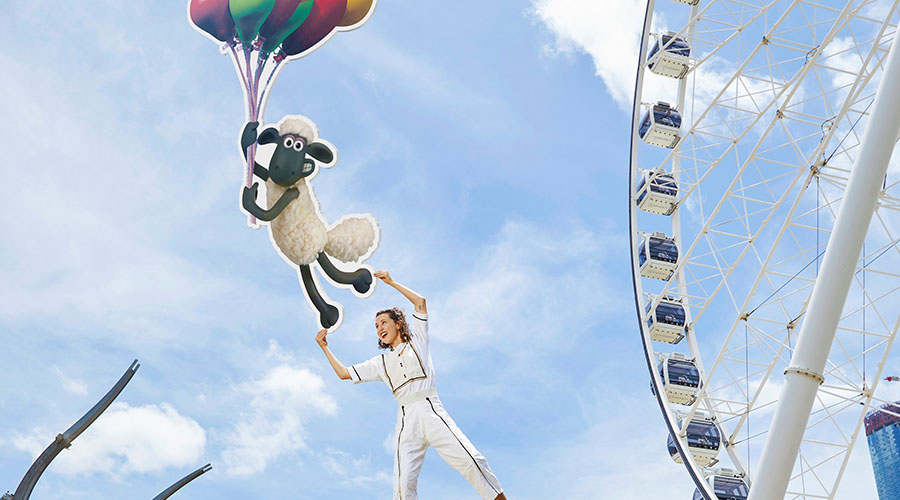 Shaun the Sheep's Circus Show is coming to QPAC this March!