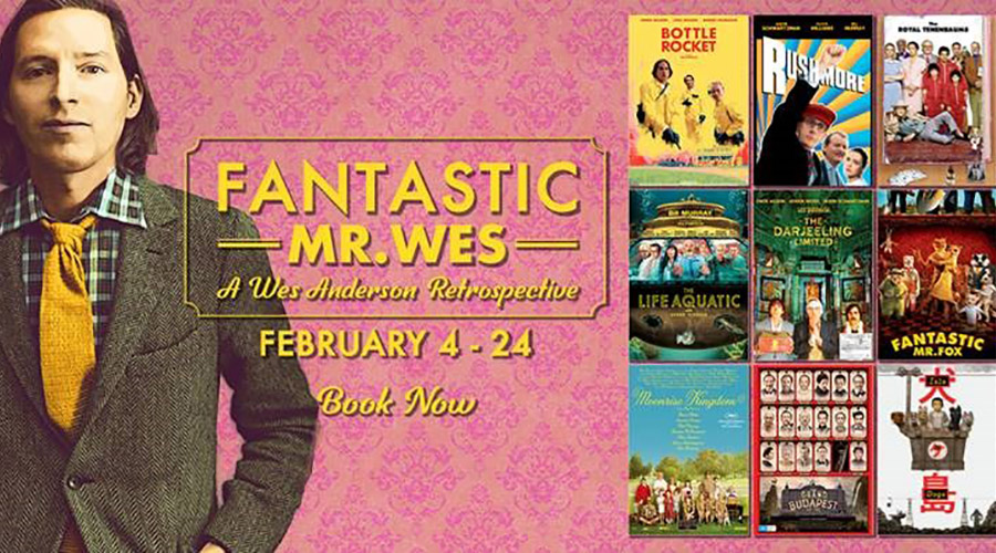 Fantastic Mr Wes: A Wes Anderson Retrospective is coming to Dendy Coorparoo!