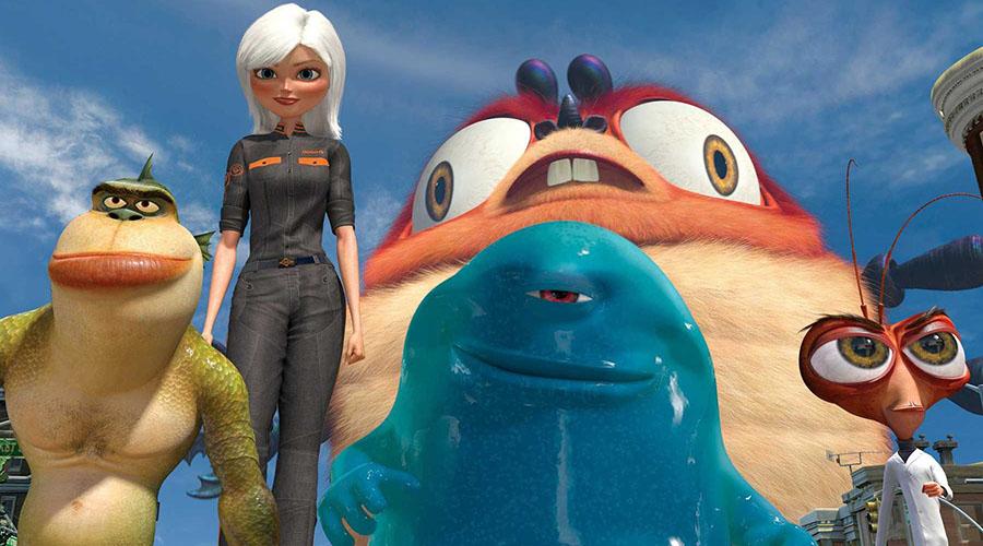 Retro Movie Review - Monsters Vs Aliens