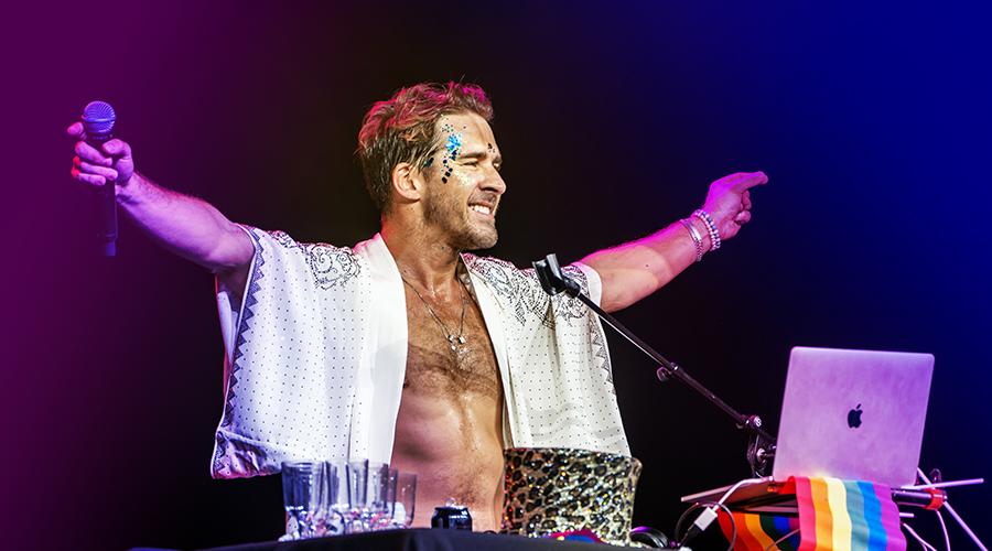 Hugh Sheridan is bringing Hughman to the Brisbane Festival!