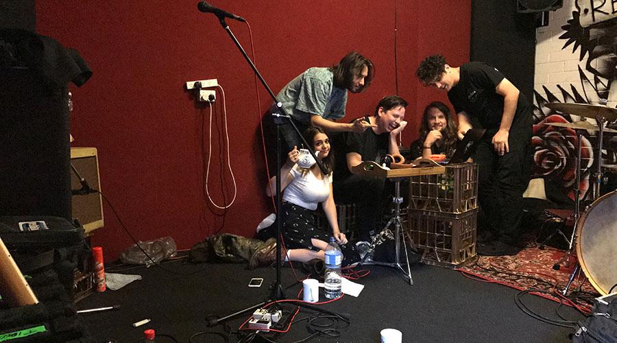 Tired Lion Recording Debut Album