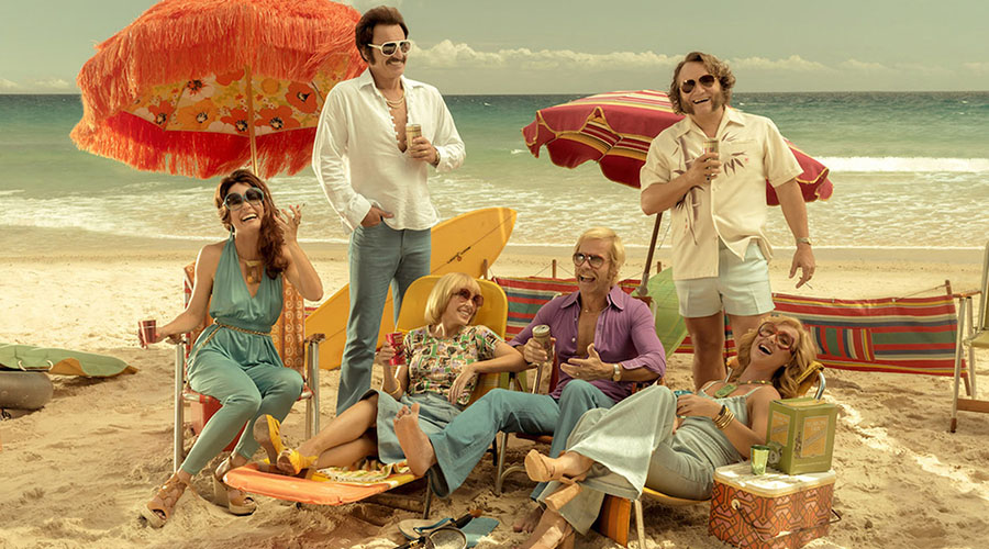Watch the New Trailer for Swinging Safari Starring Guy Pearce and Kylie Minogue!