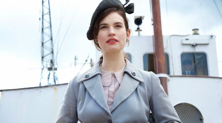 Check out the trailer for The Guernsey Literary and Potato Peel Pie Society - starring Lily James!