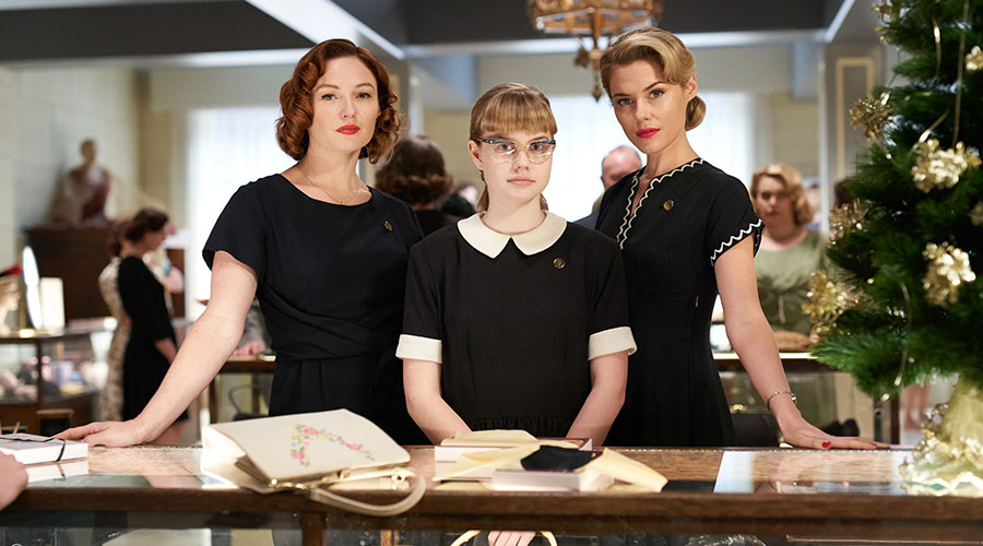 Check out the first look image of Bruce Beresford's Ladies in Black in cinemas October 18, 2018!