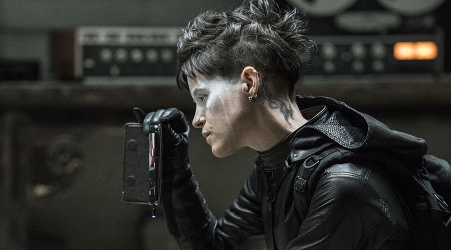 Discover what made her the Girl - watch the new trailer for The Girl in the Spiders Web