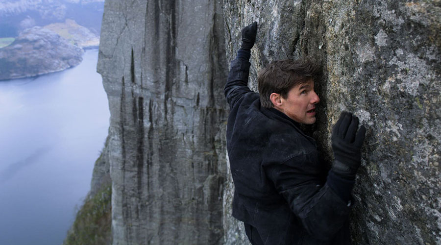 Watch the real stunts, real stakes with no fear Mission: Impossible - Fallout featurette!