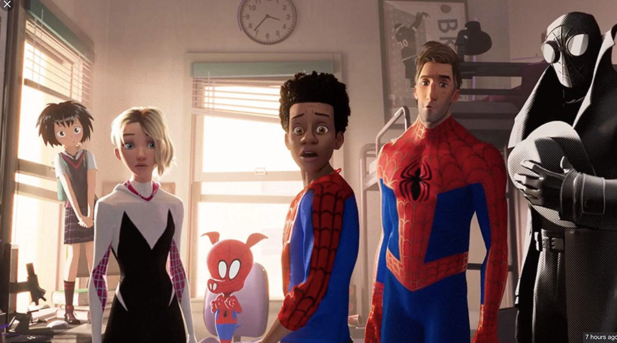 Watch the new extended sneak peek from Spider-Man: Into The Spider-Verse — in cinemas December 13!