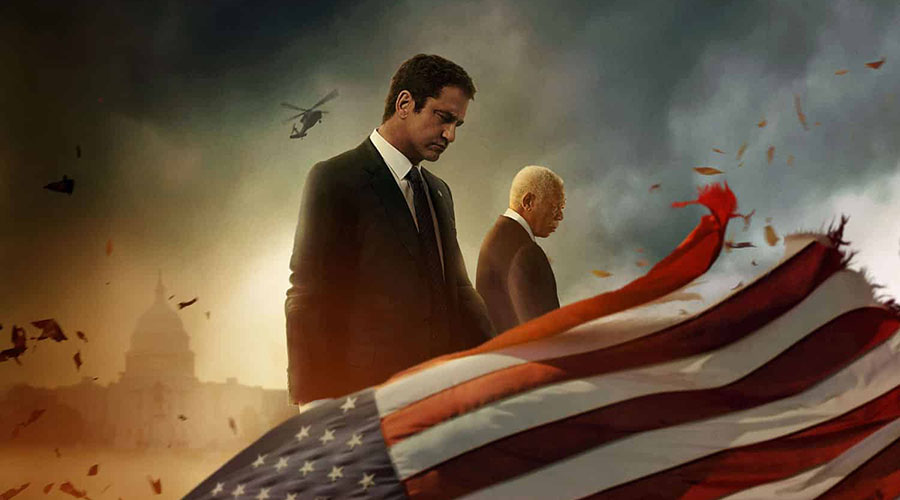 Watch the new trailer for Angel Has Fallen starring Gerard Butler and Morgan Freeman!