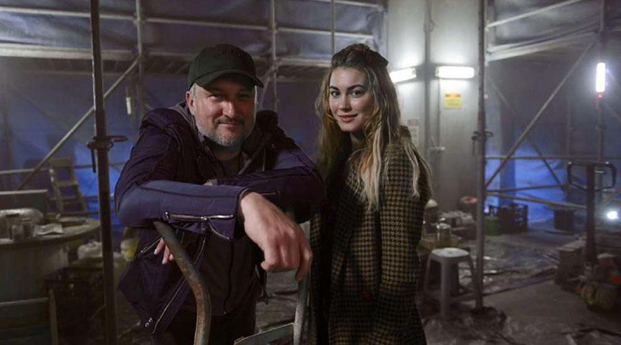 Rising Wolf has kicked off production at Fox Studios, Sydney!
