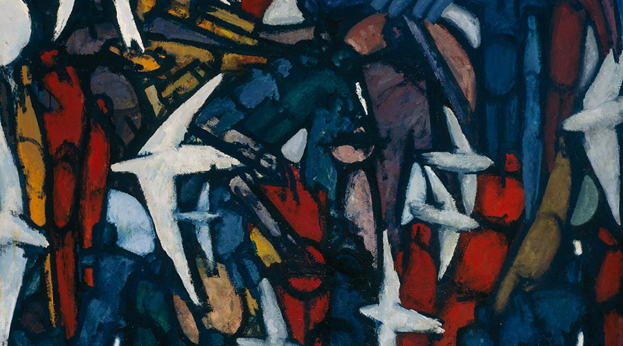 Roger Kemp - Visionary Modernist Exhibition now showing at NGV