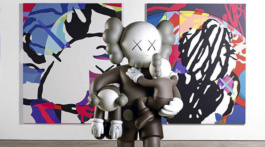 KAWS: Companionship in the Age Exhibition at NGV