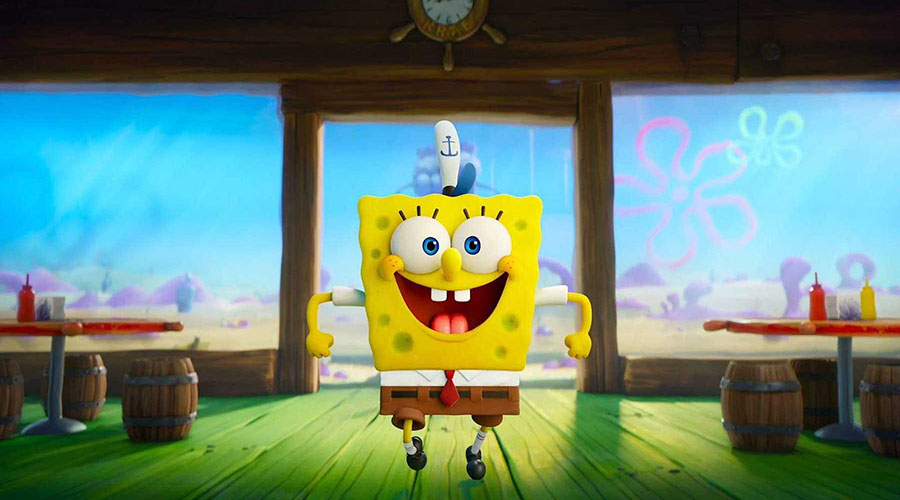 They're making a splash - check out the trailer for The Spongebob Movie: Sponge on the Run!