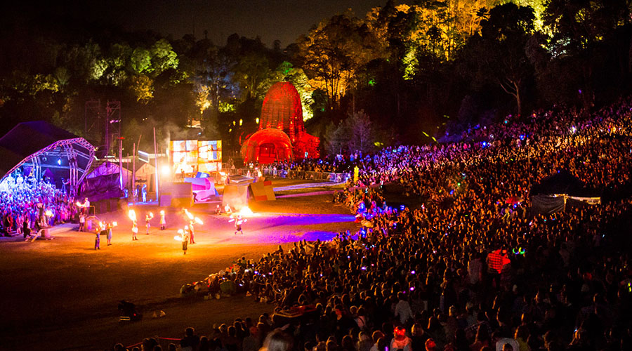 Giant Puppets and a Fantastical New Story - Woodford Folk Festival's Iconic Closing Ceremony