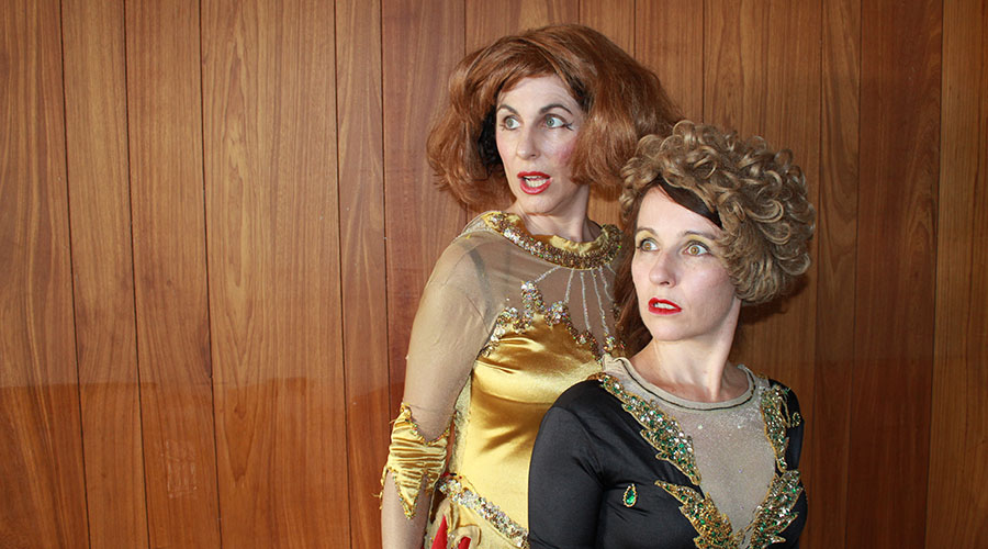 Boyle and Waters in Leotard at Metro Arts