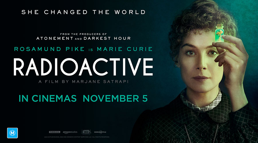Win tickets to a very special screening of Radioactive!
