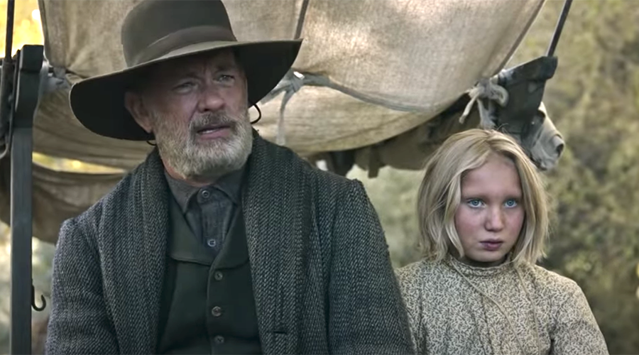 Watch the trailer for News of the World - starring Tom Hanks!