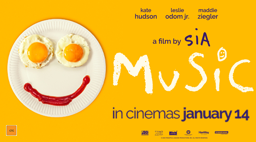 Win tickets to Music - in Aussie cinemas January 14!