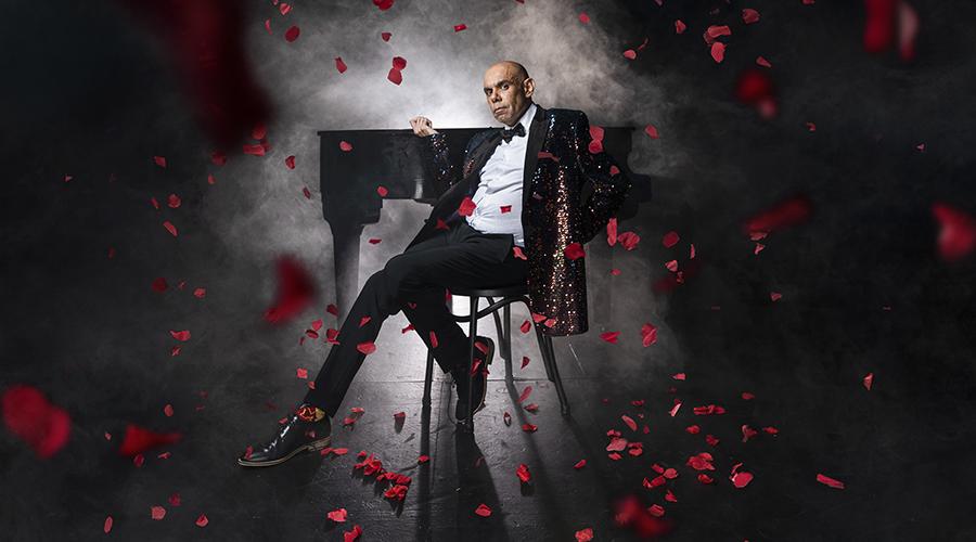 Steven Oliver's autobiographical comedy cabaret, Bigger & Blacker is coming to La Boite!