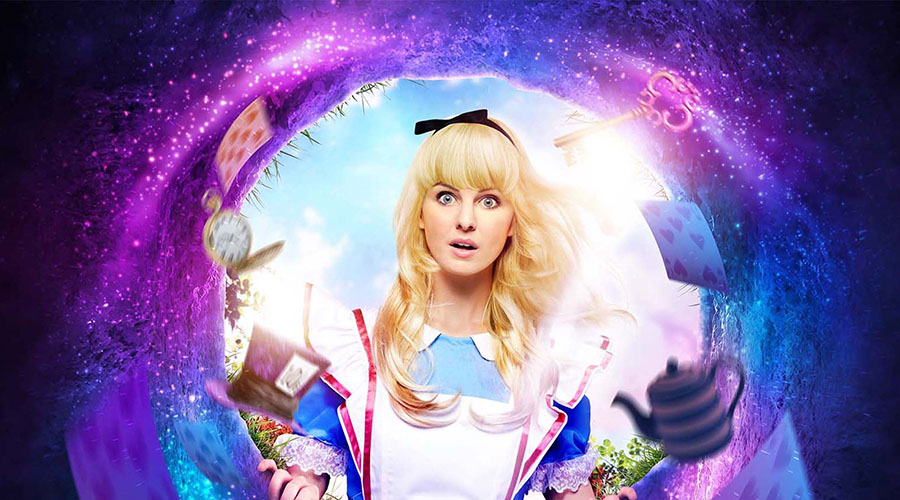 Experience Lewis Carroll's timeless classic Alice in Wonderland Live on Stage at QPAC this school holidays!