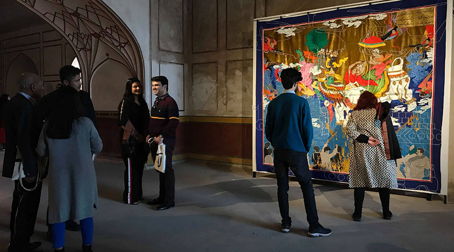 Khadim Ali - Invisible Border Exhibition