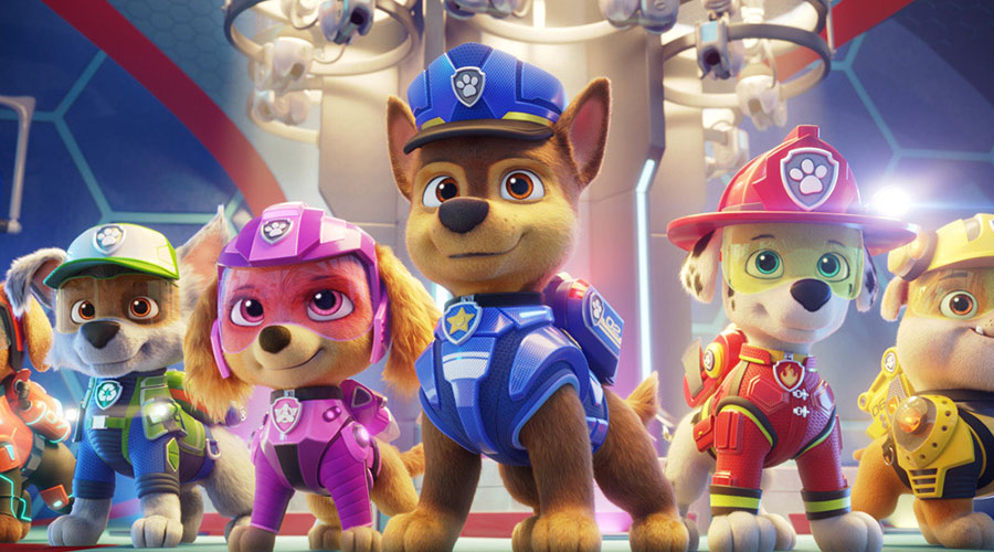 Watch the trailer for PAW Patrol The Movie