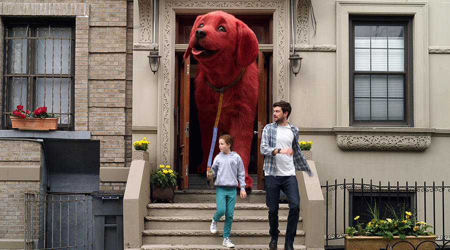 Watch the Trailer for Cliffod The Big Red Dog!