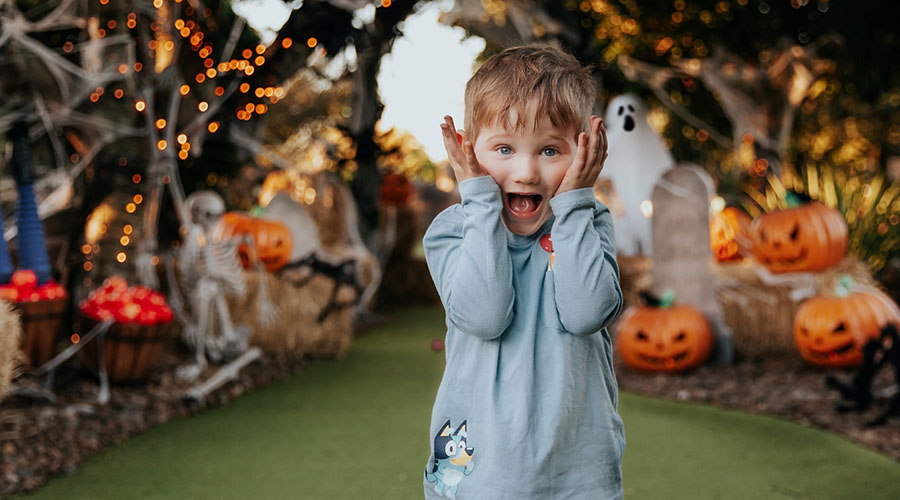 Get ready for the fright of your life at Victoria Park's spook-tacular Halloween Putt Putt!